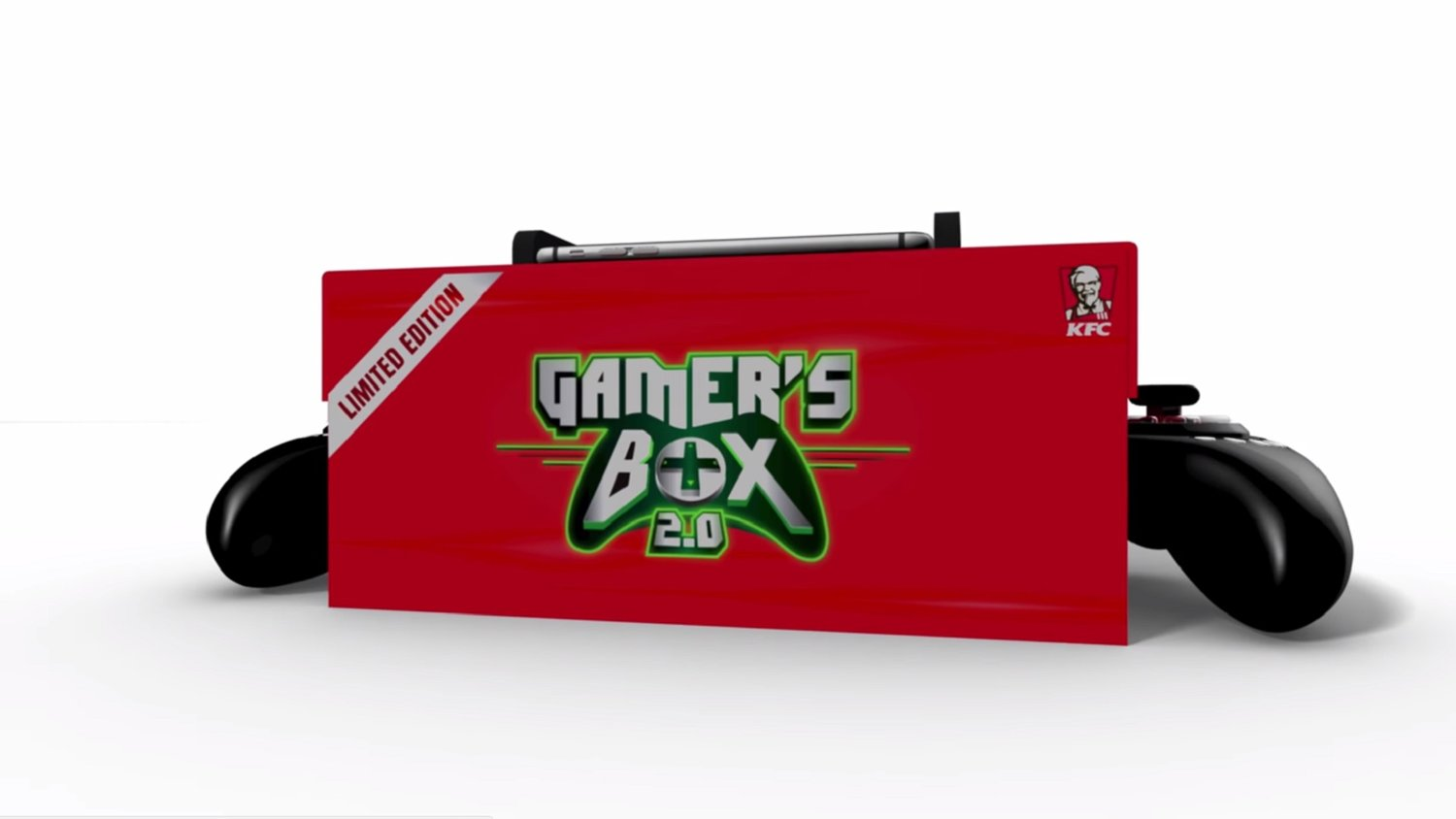 no joke kfc is selling a box of chicken that doubles as a game