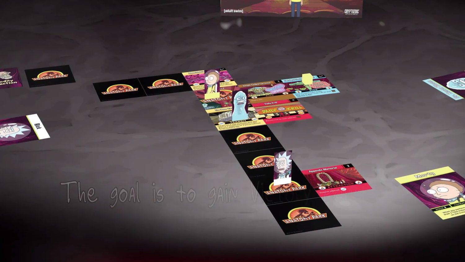 Check Out The New RICK AND MORTY Tabletop Game ANATOMY PARK — GameTyrant