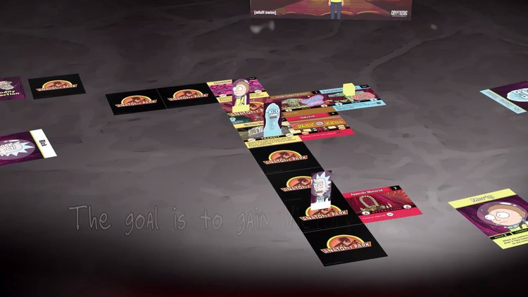 Check Out The New Rick And Morty Tabletop Game Anatomy Park Gametyrant