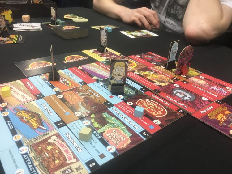 Gen Con 2017 Rick And Morty Anatomy Park Brings Laughs And Easter