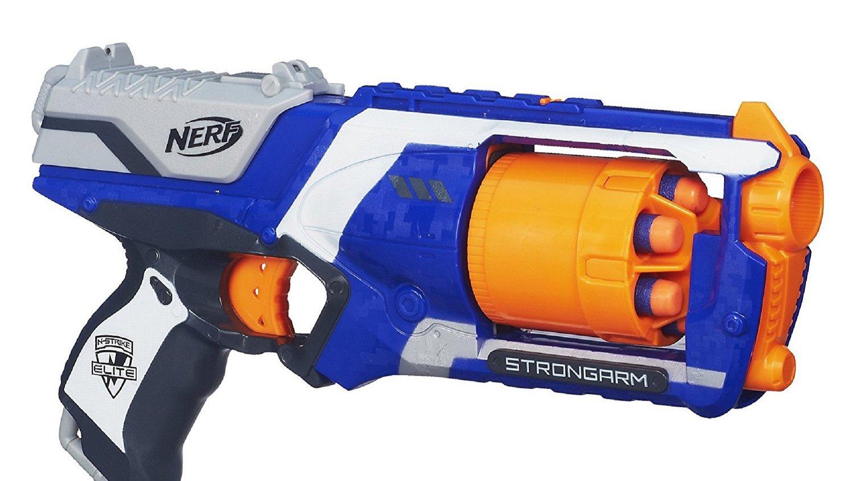 Deal Get A Dope Nerf N Strike Elite Strongarm Blaster For 9 99 Gametyrant