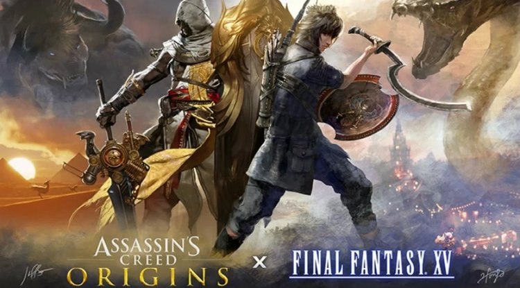 purchase cheap e30cd 9ee9b ... FINAL FANTASY XV And ASSASSIN S CREED ORIGINS Are Teaming Up