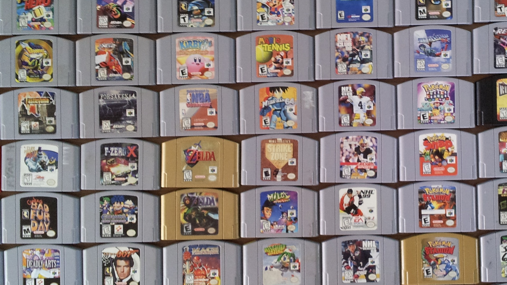 List of all n64 games with pictures