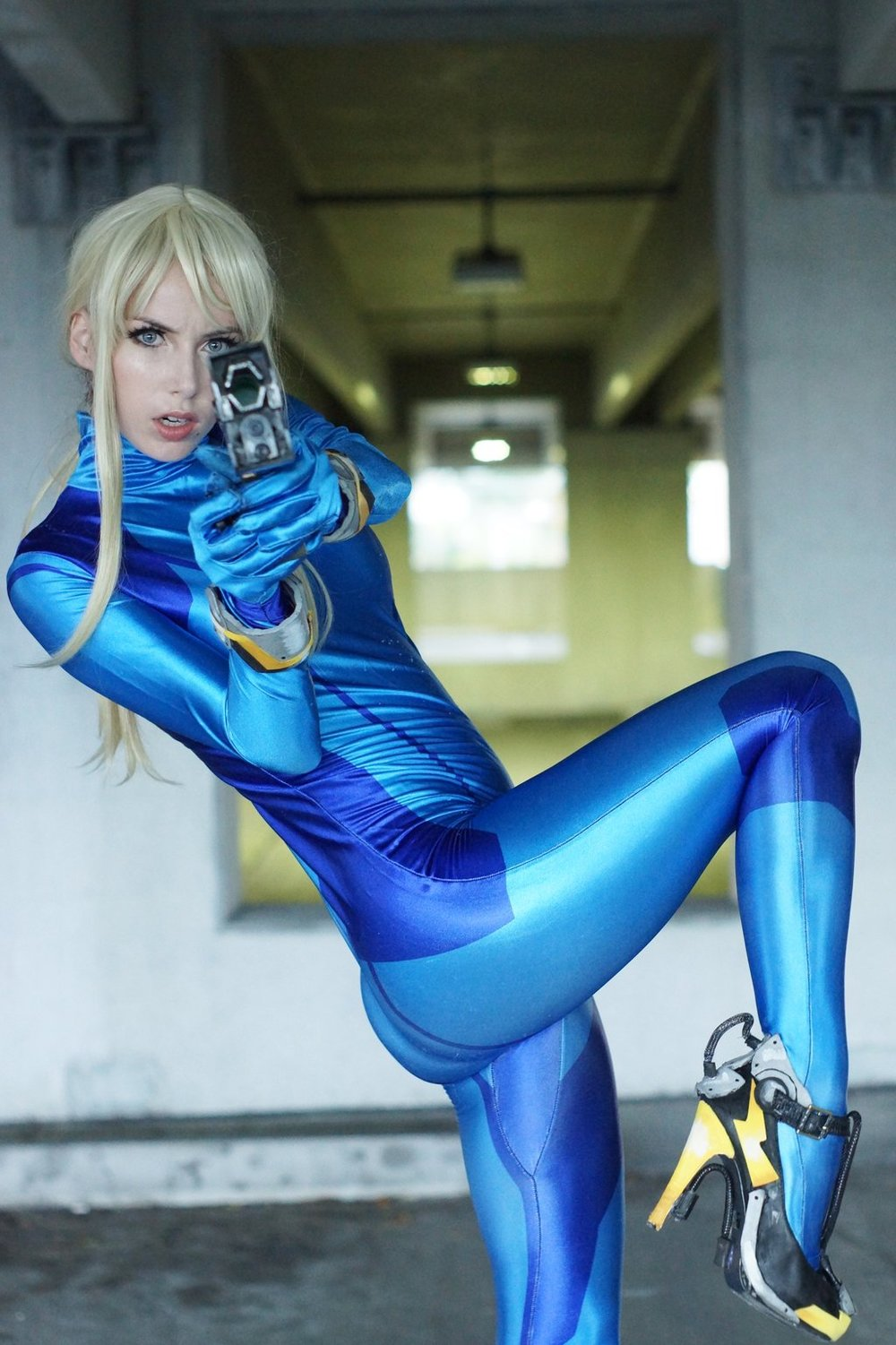 This Zero Suit Samus Cosplay Is Simply Astounding Gametyrant