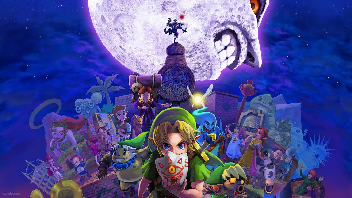 A Zelda OCARINA OF TIME And MAJORA'S MASK Port Could Be