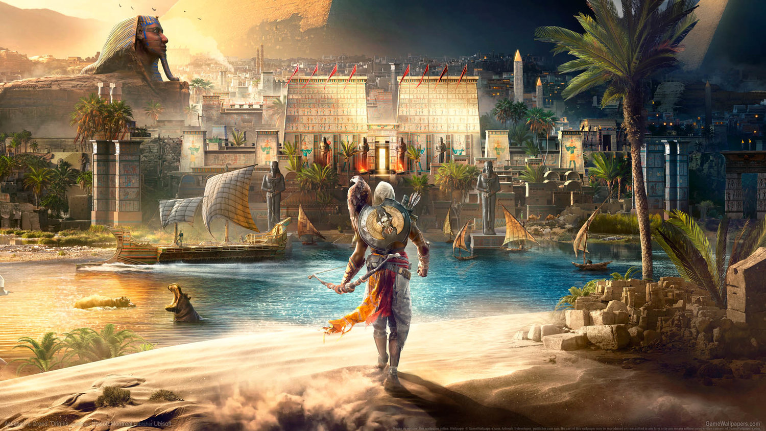 b465c002560 Here s Some Official Assassin s Creed Origins Merchandise You Don t Want To  Miss — GameTyrant