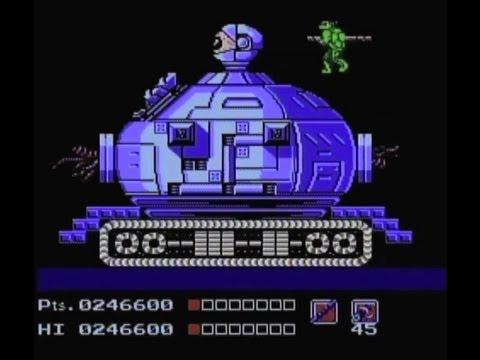 The fifth boss in  Teenage Mutant Ninja Turtles is hard as nails!