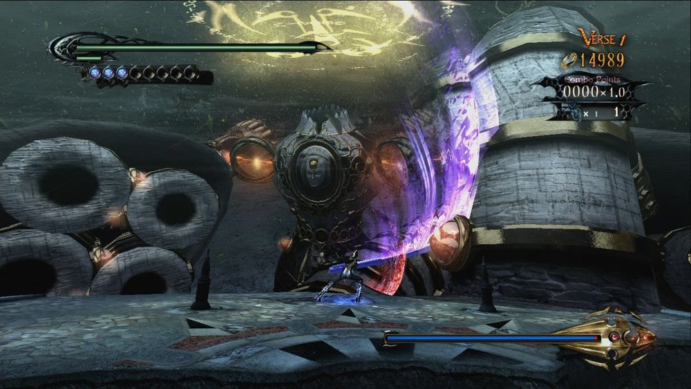 The Bayonetta series is famous for it's satisfyingly epic Boss battles with unique enemy design