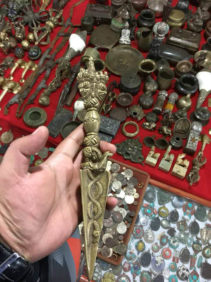 Actual Phurba found in a Tibetan Market