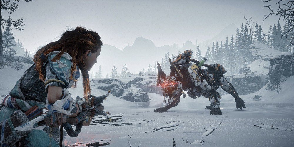 Horizon Zero Dawn: Frozen Wilds is a great example of high quality dlc content subscribers will come back for.