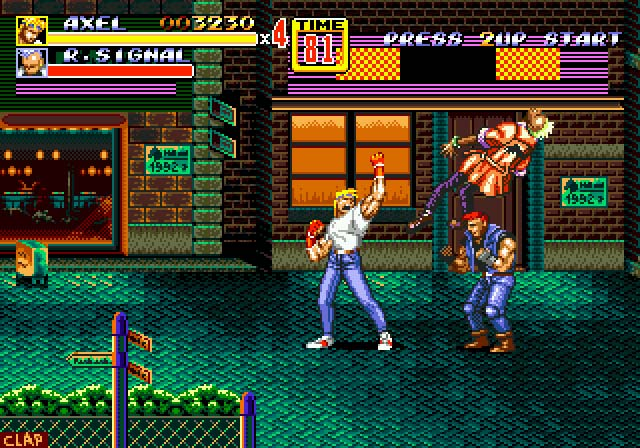 Streets of Rage 2 is widely regarded as the best beat em up - even today!