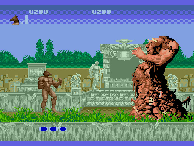 Altered Beast - Greek Mythology mixed with a solid beat em up experience