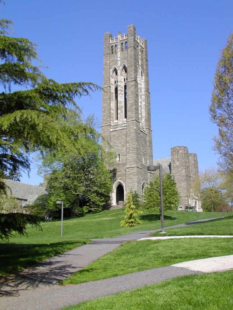 Seriously, is it a tourney venue or a sacrosanct place of worship? (picture: Swarthmore College)