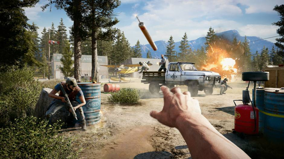 Far Cry 5 S Campaign Could Take Players 25 Hours To Complete