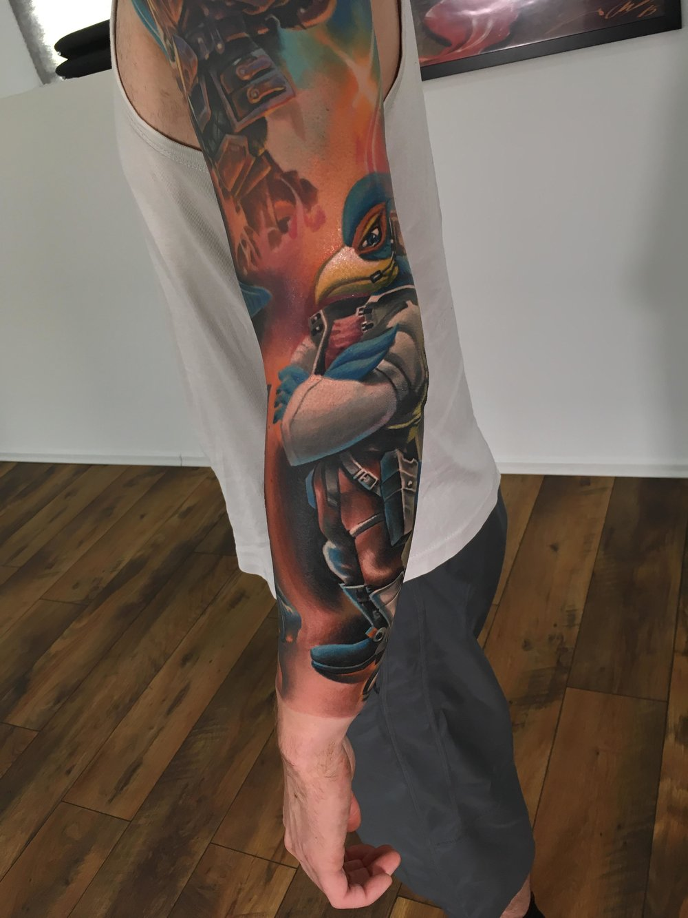 This tattoo belongs to Reddit user u/Hahn_on_Reddit