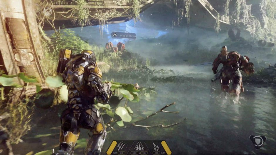 anthem will focus on storytelling after the failure of mass effect