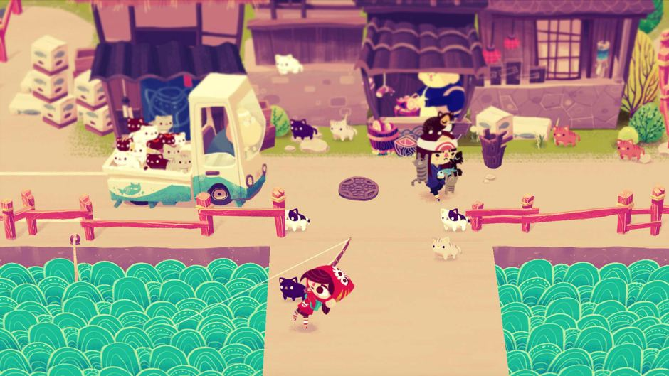 MINEKO'S NIGHT MARKET is Basically ANIMAL CROSSING with CATS