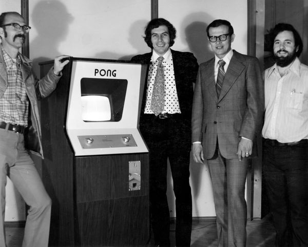 Ted Dabney (left), Nolan Bushnell (right) Image: Computer History Museum