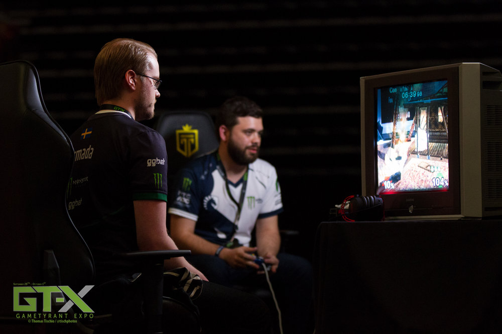 "Juan ""Hungrybox"" Debiedma and Adam ""Armada"" Lindgren fought tooth-and-nail for victory at GT-X 2017."