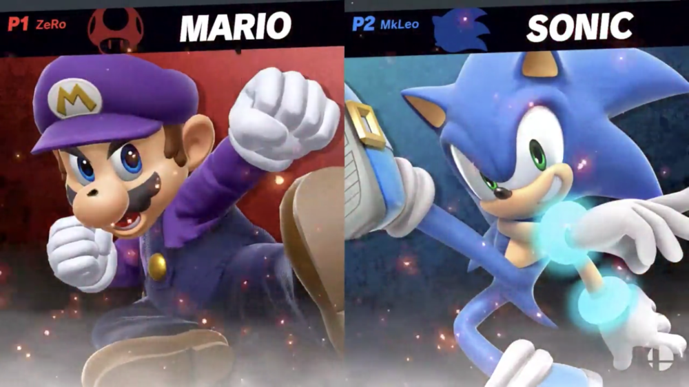 In grand finals, ZeRo and MkLeo played flagship characters Mario and Sonic respectively.