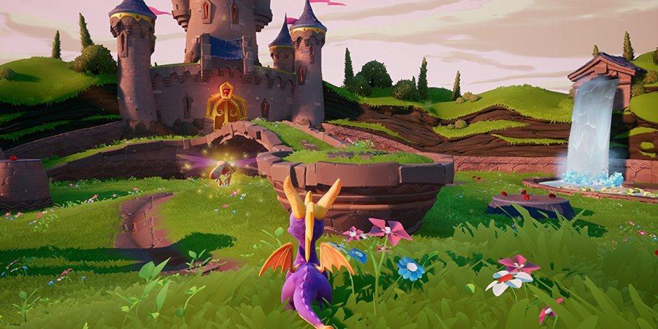 Image result for spyro reignited trilogy gameplay
