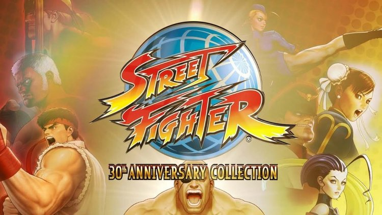 The Japanese Edition Of STREET FIGHTER 30TH ANNIVERSARY COLLECTION