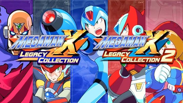MEGA MAN X LEGACY COLLECTION 1 & 2 Are Coming To The Switch This