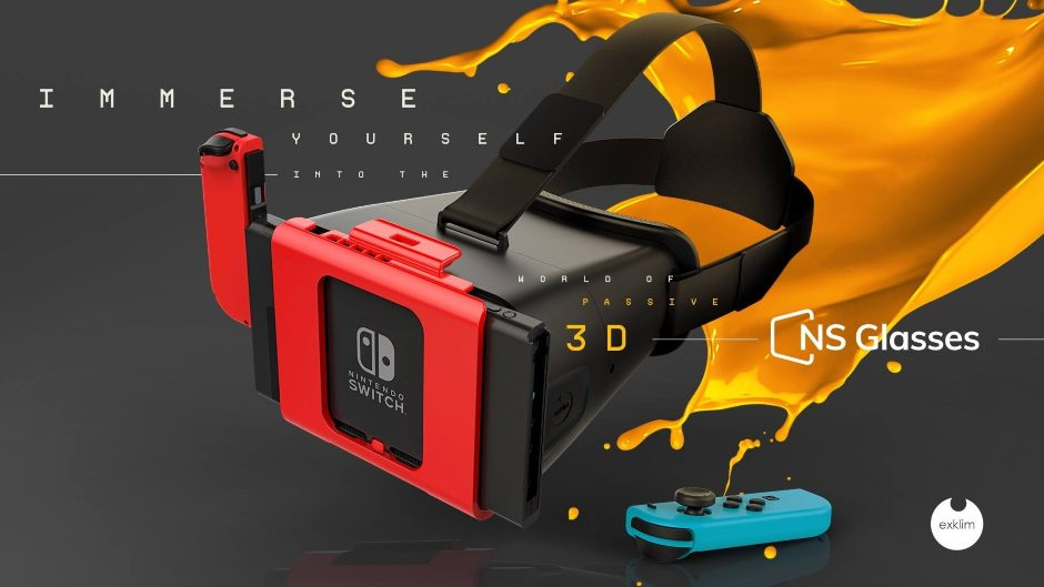 d5e3e1a04bc Will The NS Glasses Bring A True VR Experience To The Switch ...