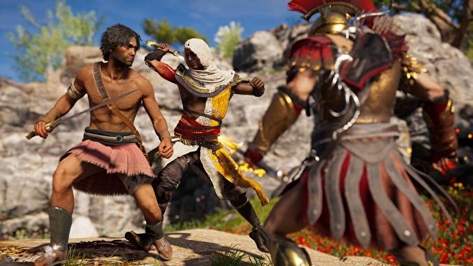 Bayek Is Now Unlockable In Assassin S Creed Odyssey Gametyrant