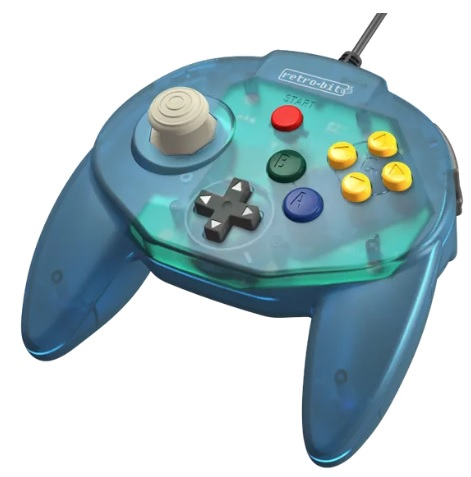 Retro-Bit Set To Release Its Tribute 64 N64 Controller This May And