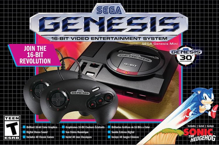 3484c599992bc Sega Genesis Mini Is Coming This September And It Already Has Some Amazing  Games On The