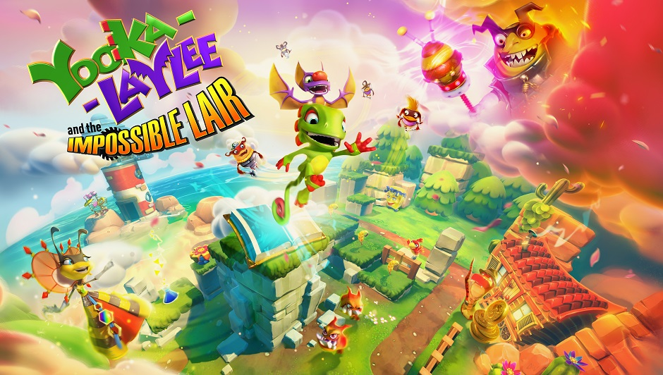 Image result for yooka-laylee and the impossible lair cover art