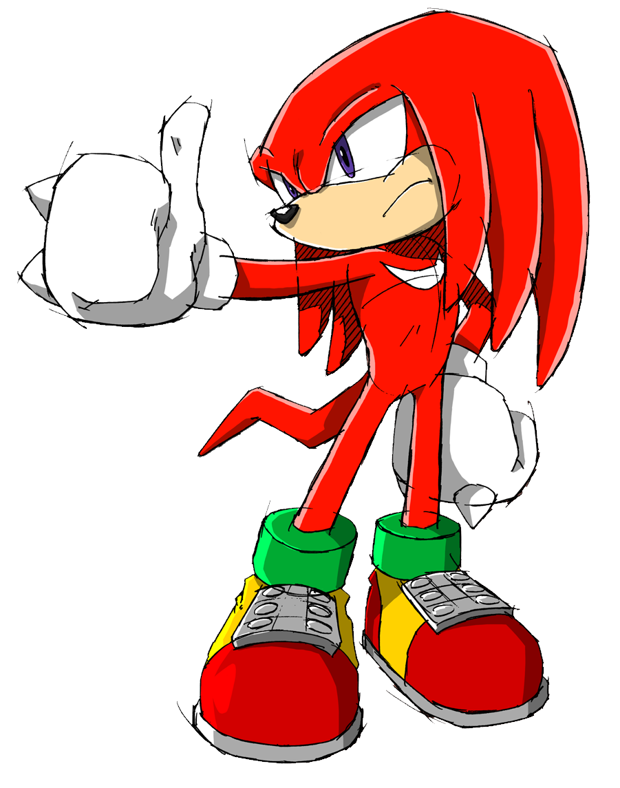 Character Spotlight Knuckles The Echidna Part 1 Gametyrant