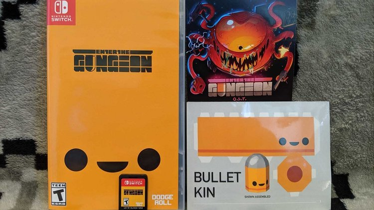 Indie Hit ENTER THE GUNGEON Gets A Physical Release On