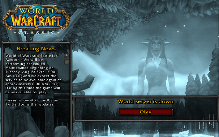 WORLD OF WARCRAFT: CLASSIC is Live (And Players Have Already