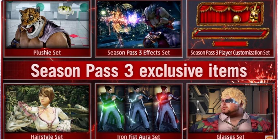 Tekken 7 S Season Pass 3 Announcement Includes Overall Game