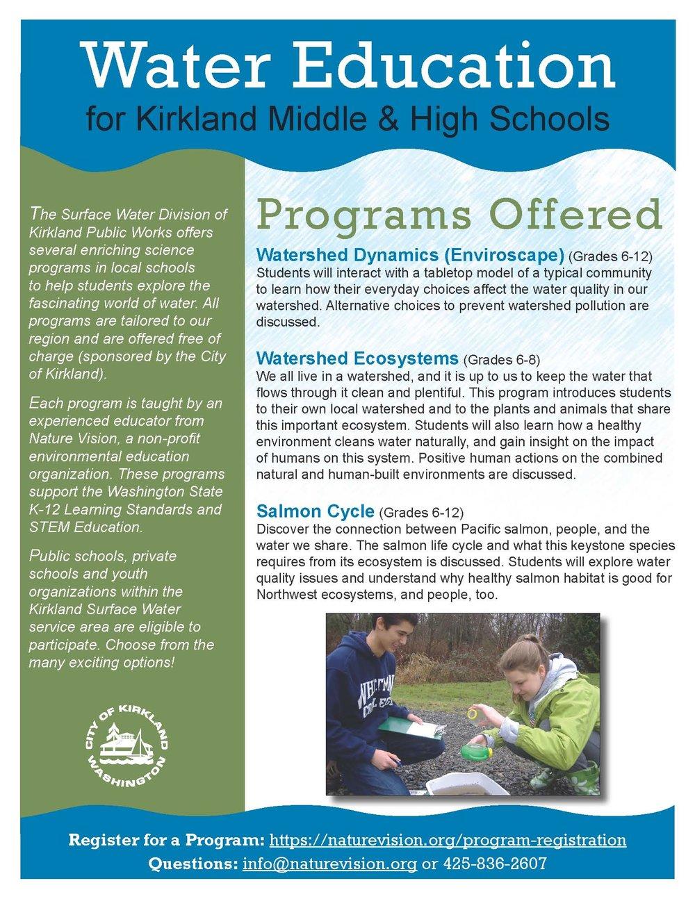 City of Kirkland (Secondary)