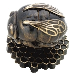 Bee knob from the Netzuke collection at Martin Pierce Hardware