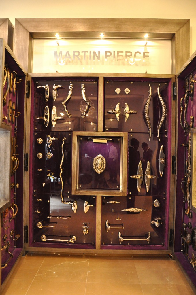 Martin Pierce Hardware display in Porta Showroom in Saudi Arabia