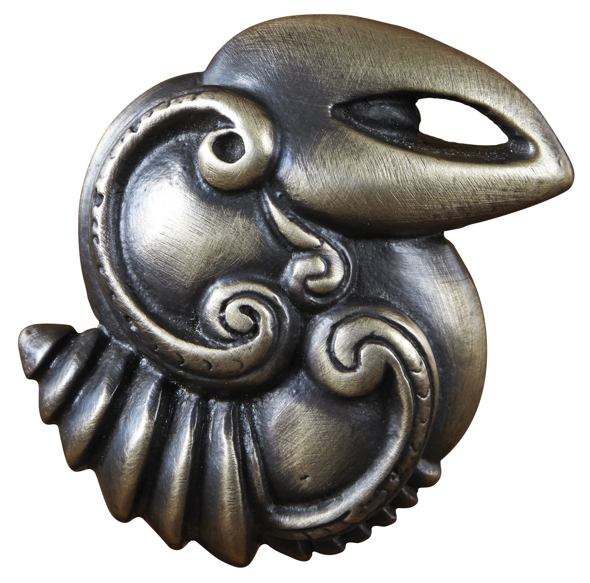 Hawaiian bird knob from the Hawaiian custom hardware collection
