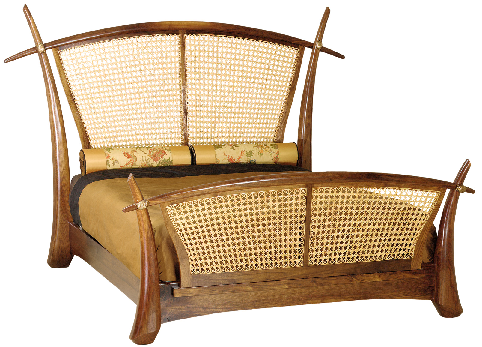 Rickshaw bed by Martin Pierce Hardware
