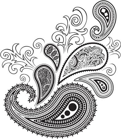 design paisley drawing