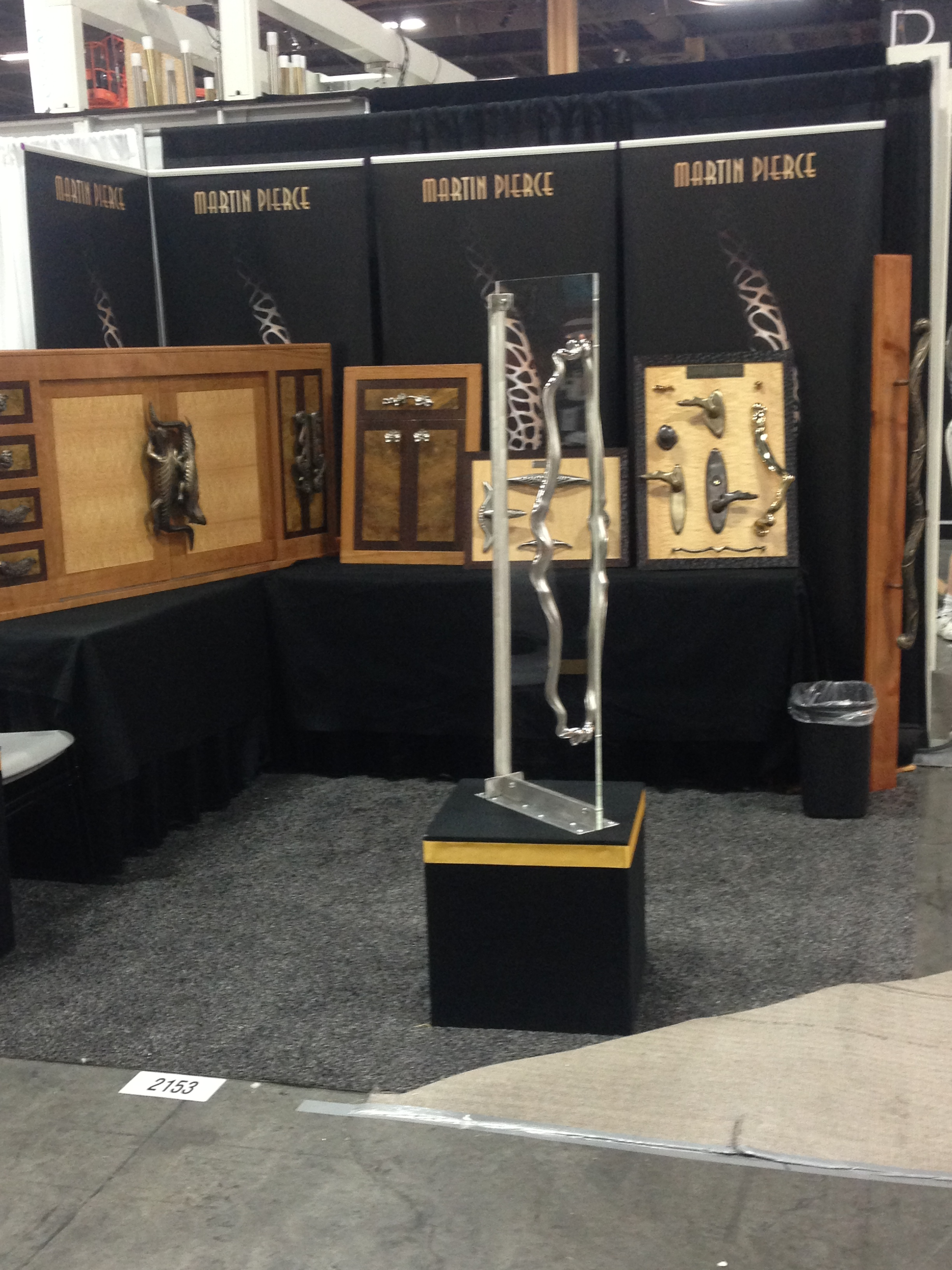 Martin Pierce Custom Hardware booth at HD Expo Las Vegas 2014 Martin Pierce Hardware Los Angeles CA  90016