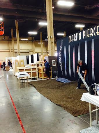 HD Expo 2014 booth for Martin Pierce Hardware