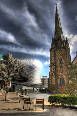 Selfridges Department Store, Birmingham, UK designed by Future Systems
