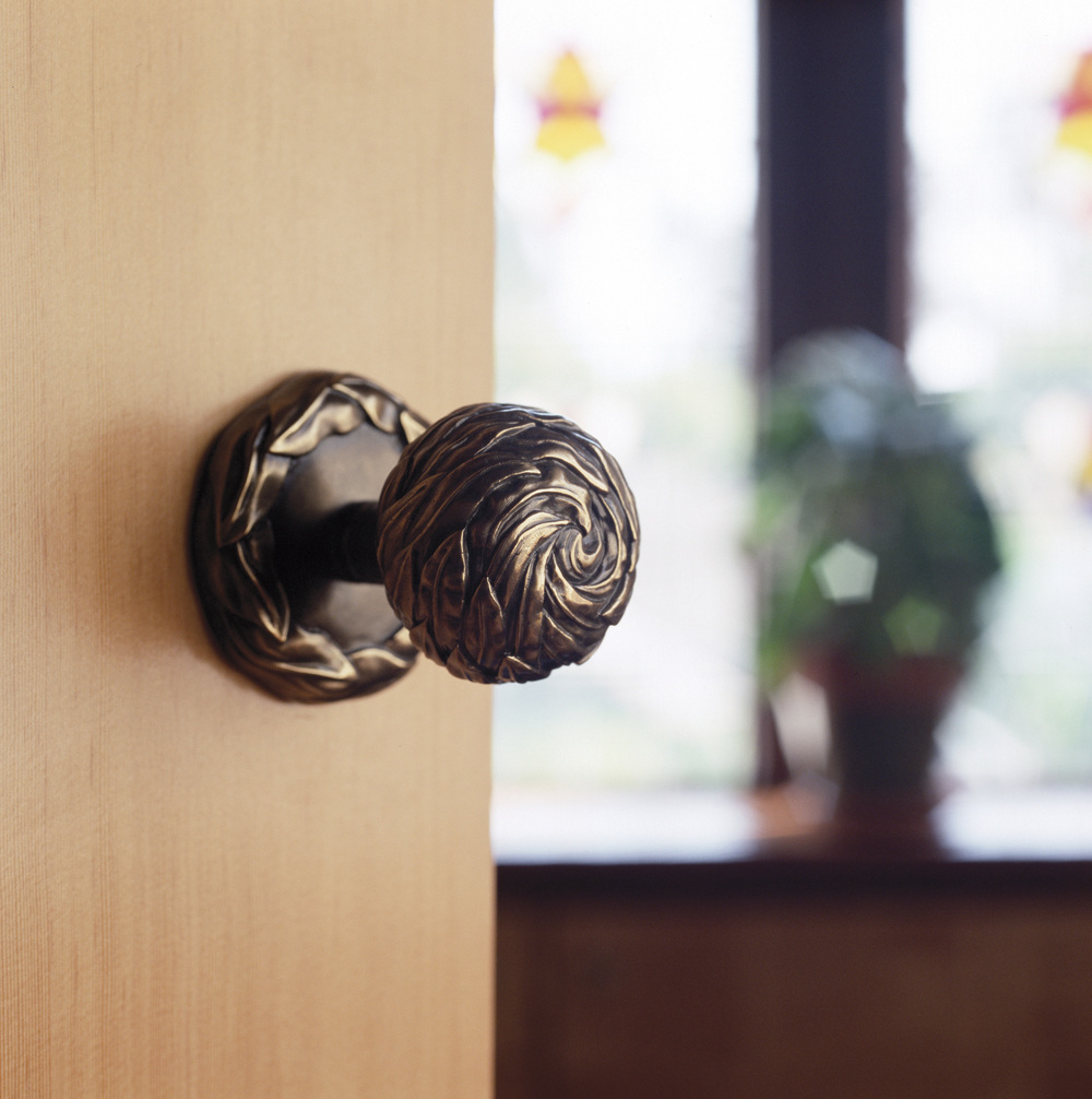 Designer door knob Willow style