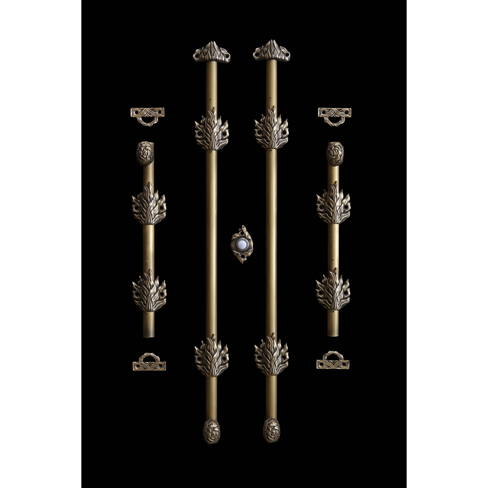 modern cremone bronze bolts