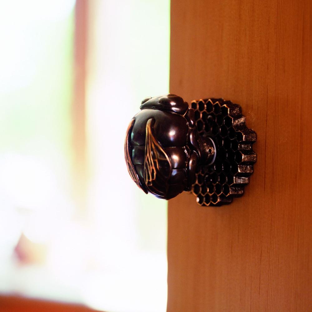 Bumble bee door knob