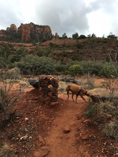 Wagon Trail in Sedona Arizona. Photo by Martin Pierce Hardware, Los Angeles CA