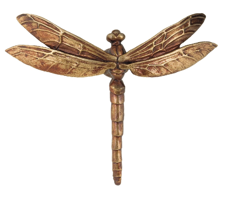 Dragonfly cabinet pull  from Martin Pierce Hardware Los Angeles CA  Photo Doug Hill